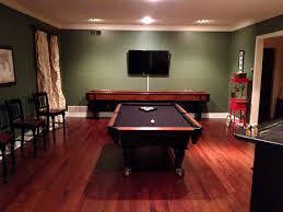 interior game room pool tables its my life the game room