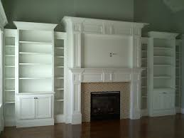 Fireplace Built Ins Traditional Family Room Boston By - Family room built in cabinets