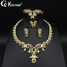 african women necklace images Dubai gold color unique design wedding jewelry set bridal african jpg