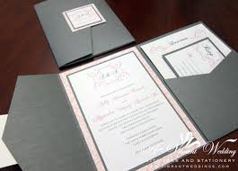 Make Invitation Card Formidable Pink And Grey Wedding Invitations Theruntime Com