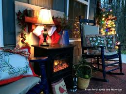 How To Make Fake Fireplace by How To Make A Faux Fireplace For Your Porch Hometalk