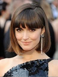 low lighted hair for women in the 40 s 50 s short bob hairstyles with bangs for fine hair layered haircuts