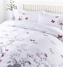 linea butterfly design duvet set house of fraser