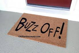 killerdoormats custom funny rude and awesome doormats for the