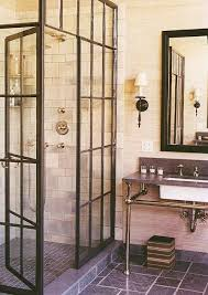 Rustic Bathroom Vanities For Sale - glamorous old factory window for shower screen by rwrenee with