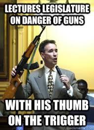 Funny Democrat Memes - funny gun safety meme photo