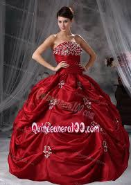 maroon quinceanera dresses maroon gorgeous taffeta appliques quinceanera dress for