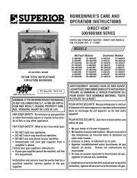 superior dr500 user u0027s manual
