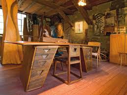Flat Top Desk Wharton Esherick American Master American Hardwood Information
