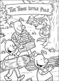 pigs words worksheets kindergarten