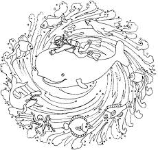 playing sea creature mandala coloring pages batch coloring