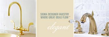 Sigma Faucets Sigma Designer Faucetry