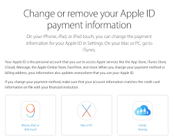 apple itunes help desk remove credit card from apple id palcs helpdesk