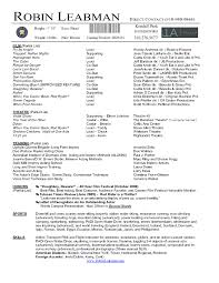 Dorothy Parker Resume Rtf Actors Resume 85mb Within Free Acting Resume Template Download