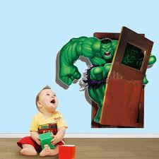 marvel avengers hulk wall sticker decals boys room