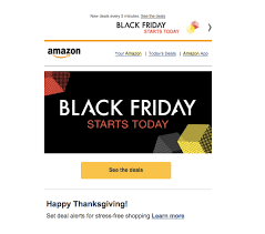 amazon black friday starts black friday recap what we u0027ve learned klaviyo