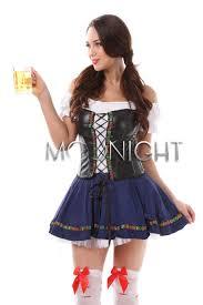 beer maid costume women oktoberfest german celebration