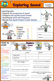 sound and waves interactive notebook student self assessment