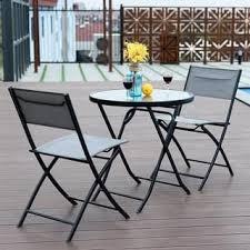 Ornate Metal Folding Bistro Chair Outdoor Bistro Sets Shop The Best Deals For Dec 2017 Overstock Com