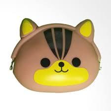 Dompet Koin Karakter jual karnakamu silicone jelly karakter imut black cat dompet koin