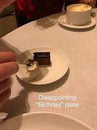 celebration plate the most disappointing celebration plate picture of petrus
