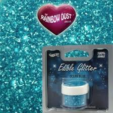 Where To Buy Edible Glitter Buy Rainbow Dust Edible Glitter Ocean Blue In Cheap Price On M