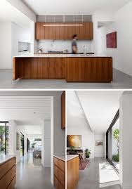 a modern kitchen this suburban house received a modern extension and updated
