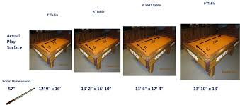 width of a 7 foot pool table pool table room size chart maine home recreation