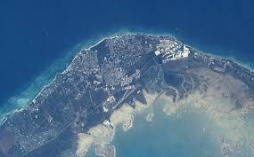 satellite image photo of freeport bahamas