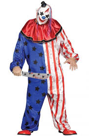 scary clown costumes evil circus clown plus size costume purecostumes