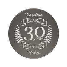 anniversaire de mariage 30 ans 30ème anniversaire mariage sous verres 30ème anniversaire mariage