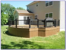 deck skirting ideas other than lattice decks home decorating