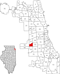 Chicago Wards Map by West Elsdon Chicago Wikipedia