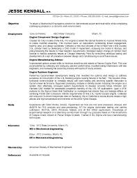 Sle Resume For Mechanical Engineer Objectives For Resumes Engineering Entry Level Engineering Free