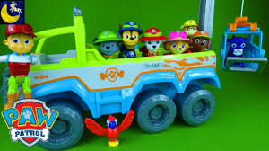 tracker jeep paw patrol toys jungle rescue pups paw terrain vehicle ryder