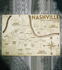 nashville carved wood map features local pride origin artwork
