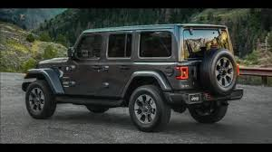 grey jeep rubicon sting gray jl wrangler revealed in designer video 2018 jeep
