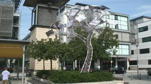 solar tree to replace real tree in bristol city centre news