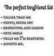 Cute Memes For Boyfriend - 25 best memes about perfect boyfriend perfect boyfriend memes