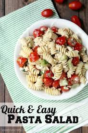 cold pasta salad dressing quick and easy pasta salad recipe snappy gourmet