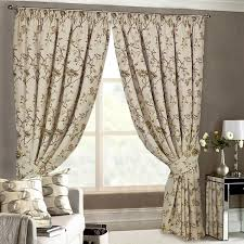 just contempo tapestry pencil pleat curtains beige 66x54 inches