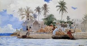 file winslow homer sponge fishermen bahamas 1885 jpg