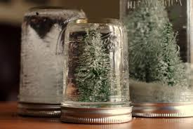 anthro hack mason jar snow globes