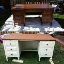 how to refinish a desk love this old writers desk refinishing project with a matching newly