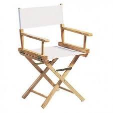 chaise metteur en sc ne b b fauteuil metteur en scène adulte chassis bois naturel