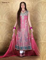 kukoos exclusive party wear anarkali frocks dresses 2015 pakistani