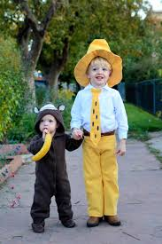 2011 halloween costumes the man with the yellow hat and curious