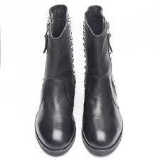 black leather biker boots leather biker boots black