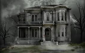 halloween backgrounds scary halloween haunted house wallpaper wallpapersafari
