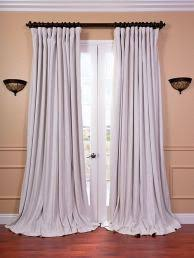 98 Inch Curtains Merete Curtains 1 Pair Gray Length 98 Awesome 60 Inch